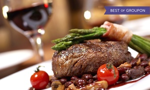 Watermark Restaurant & Lounge: Modern Canadian Dinner or Lunch at Watermark Restaurant & Lounge (Up to 47% Off). Three Options Available.
