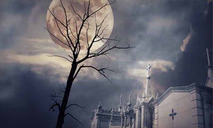 Haunted Hometowns - Elgin: Five-Hour Haunted Bus Tour of Elgin Cemeteries for Two or Four from Haunted Hometowns (Half Off)