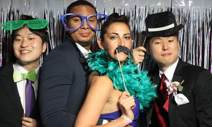 Custom Entertainment Group - North Jersey: Three-Hour Photo-Booth Rental or Four-Hour Rental Package from Custom Entertainment Group (Up to 56% Off)