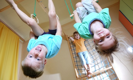 One or Three Months of Kids' Gymnastics Classes at Excalibur Gymnastics (Up to 34% Off)