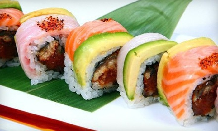 Jasmine Restaurant - Brandywine: $15 for $30 Worth of Sushi and Asian Fusion Cuisine for Dinner at Jasmine Restaurant