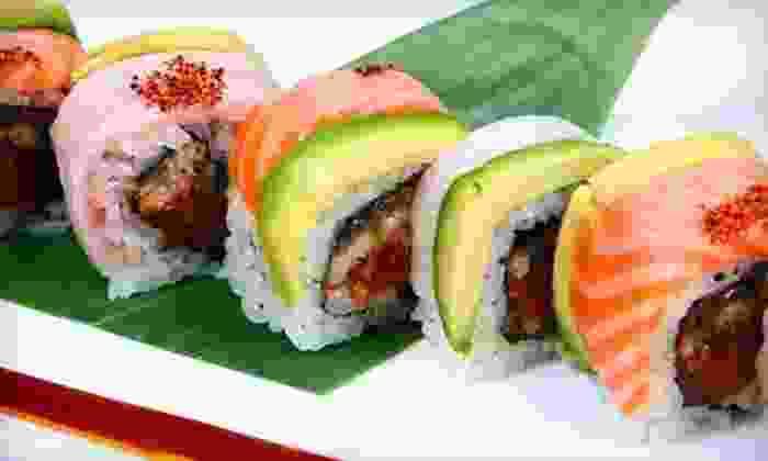 Jasmine Restaurant - Brandywine: $15 for $30 Worth of Sushi and Asian Fusion Cuisine for Dinner at Jasmine Restaurant