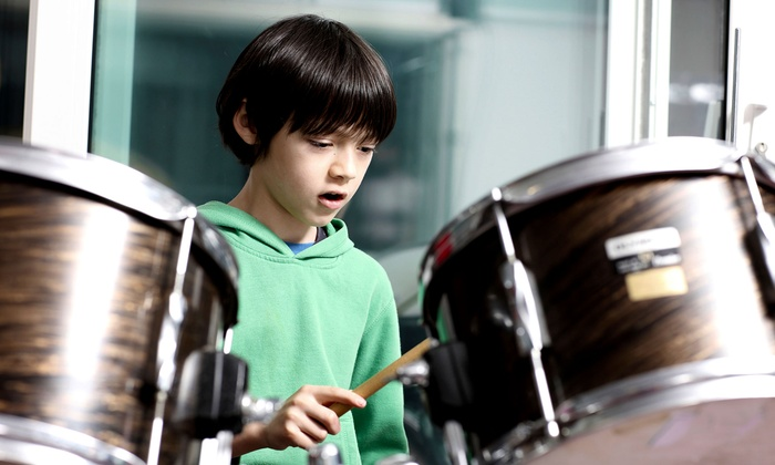 Seattle Drum School - Georgetown: $59.99 for Four 30-Minute Private Music Lessons at Seattle Drum School ($140 Value)