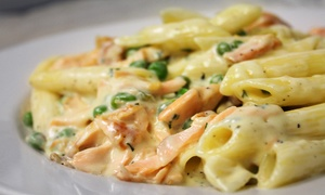 Cafe Sicilia: $10 for $18 Worth of Pizza and Italian Food at Café Sicilia