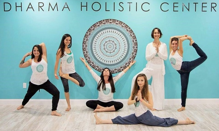 Dharma Institute - Doral: Five Yoga Classes at Dharma Institute (64% Off)