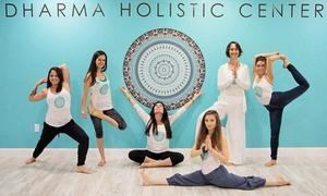 Dharma Institute: Five Yoga Classes at Dharma Institute (64% Off)