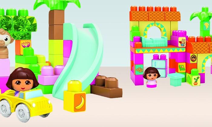 Dora the Explorer Mega Bloks Set: Dora the Explorer Mega Bloks Set. Multiple Sets Available from $17.99–$27.99. Free Returns.