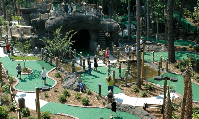 Adventure Cove - Adventure Cove: All-Day Mini Golf for Two, Four, or Six at Adventure Cove (Up to 53% Off)