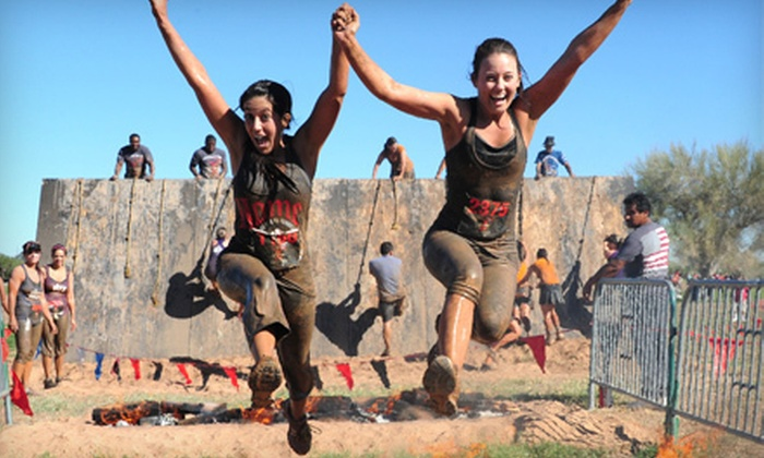 Gladiator Rock'n Run - Floresville: $40 for a 6K Gladiator Rock'n Run Race on Saturday, December 8 (Up to $80 Value)