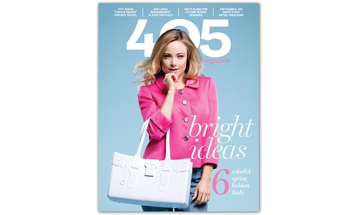"""405 Magazine: $7 for a One-Year, 12-Issue Subscription to """"405 Magazine"""" ($14.95 Value)"""