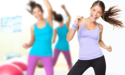 image for One- or Two-Month Membership or 10 Zumba Classes at Curves (Up to 74% Off)