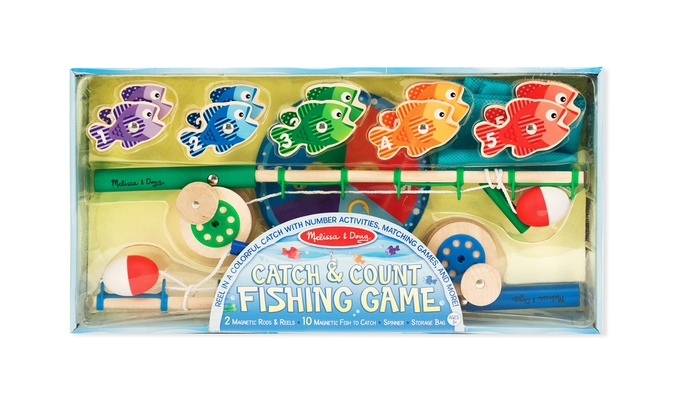 how to play melissa and doug fishing game