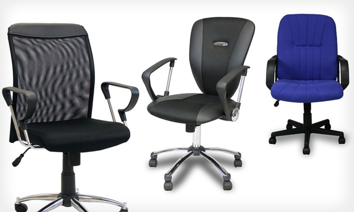 Furrino Office Chairs: Furrino Office Chairs (Up to 74% Off). Nine Options Available. Free Shipping and Free Returns.
