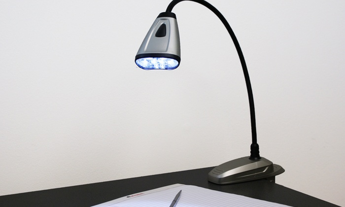 Flexible LED Lamp with Clip Base: Flexible LED Lamp with Clip Base. Free Returns.