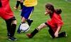 Charlotte Girls Soccer Academy - University City South: Junior Niner Girls' Soccer Camp from Charlotte Girls Soccer Academy (Up to 44% Off). Four Options Available.