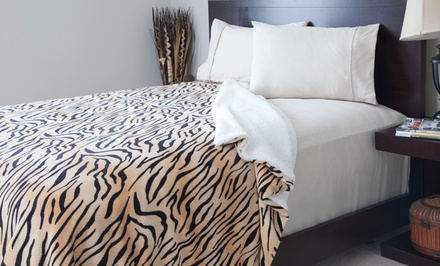 Lavish Home Animal-Print Fleece and Sherpa Blanket. Multiple Styles and Sizes from $24.99—$36.99. Free Returns.