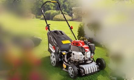 BRAST Benzin-Rasenmäher inkl. Selbstantrieb 2 kW (2,7 PS) sowie verstellbarer Schnittbreite u. Schnitthöhe