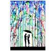 "Marc Allante 25""x18"" Rain Silhouette Art Prints"