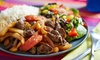 A MI Estilo - Spalding Chase: Peruvian Food and Pizza for Two or Four at A MI Estilo (47% Off)