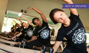Club Pilates: $45 for Five Pilates Classes at Club Pilates ($85 Value). Three Locations Available.