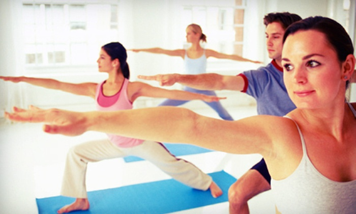 Clifton Park e studio hot yoga - Clifton Park: 5 or 10 Barre Fitness Classes at Clifton Park e studio hot yoga (Up to 54% Off)