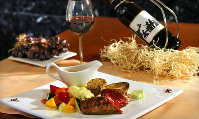 The Flaming Pit Restaurant & Piano Lounge - Gaithersburg: $15 for $30 Worth of Lunch or $25 for $50 Worth of Dinner at The Flaming Pit Restaurant & Piano Lounge