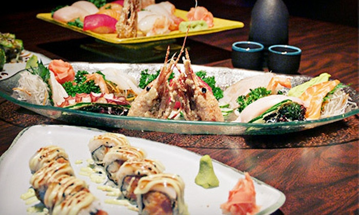 Triad Sushi Lounge - South Loop: $20 for $40 Worth of Sushi, Japanese Fusion Fare, and Drinks at Triad Sushi Lounge