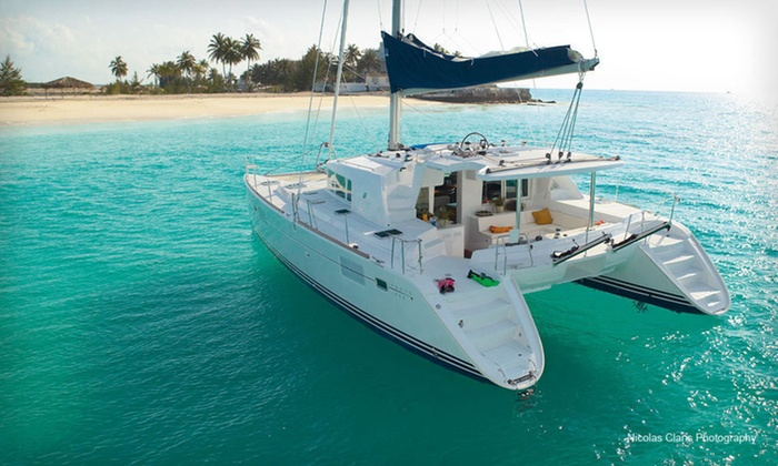 Sailing Trip - Cancun: Three- or Six-Night Private Sailing Trip with All Meals and Drinks from Cancun Luxury Sailing Vacations