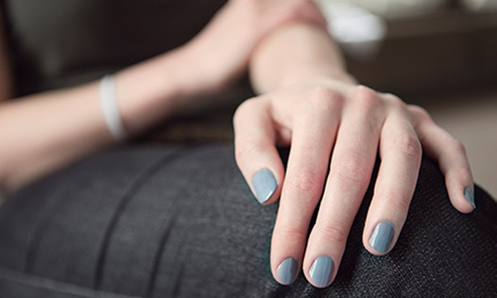 Hair by Azi - Mission Viejo: One or Two Spa Mani-Pedis at Hair by Azi (Up to 51% Off)
