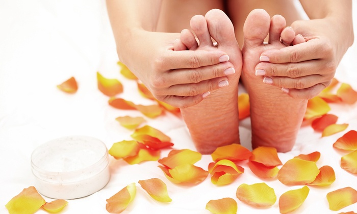 La Bella Hair and Nail Spa - Rutherford: One Regular or Shellac Manicure with Regular Pedicure at La Bella Hair and Nail Spa (50% Off)