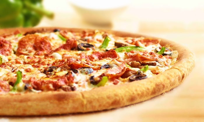 Papa John's - West Dundee: $27 for Two Large, Three-Topping Pizzas with Breadsticks and One 2-Liter Soda at Papa John's ($45.43 Value)