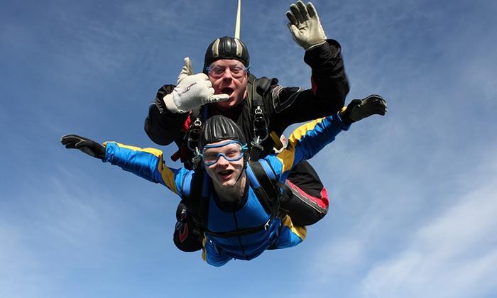 db3332a7 Tandem Skydiving - Skydive St George | Groupon