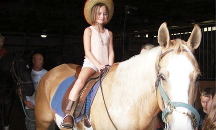 Linden Hill Stables - Kearney: 5, 10, or 20 Days of Kids' Day Camp with Horses at Linden Hill Stables in Kearney (Up to 60% Off)