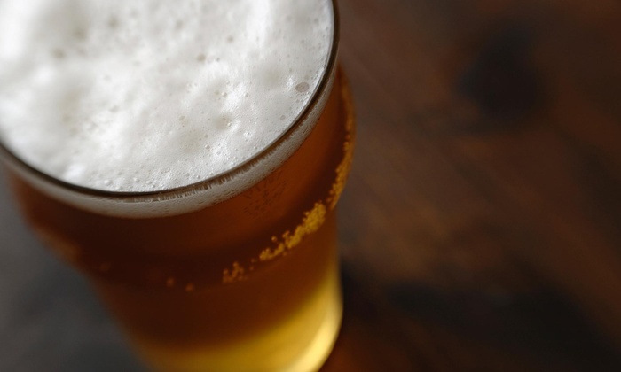 The Brass Tap - Carrollwood: Beer Flights and Entrees for Two or Four at The Brass Tap (Up to $42.96 Off)