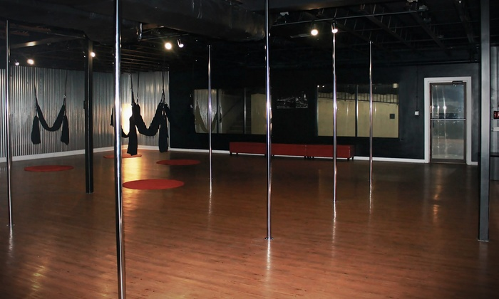 Modern Day Fitness LLC - Highlands Douglass: One Intro to Pole-Fitness Class or One Flirty Fun Pole Dancing Party at Modern Day Fitness (Up to 60% Off)