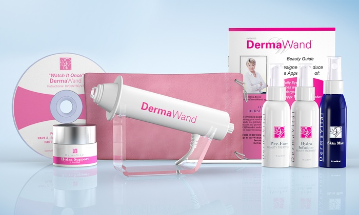 Dermawand Kit With Four Creams Groupon Goods