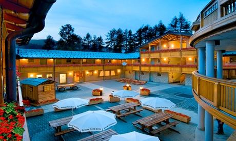 Madesimo: fino a 3 notti con mezza pensione per 2 persone al Boscone Suite Hotel