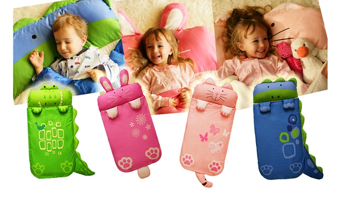 $35 for a Kids' Animal Sleeping Bag in Choice of Design