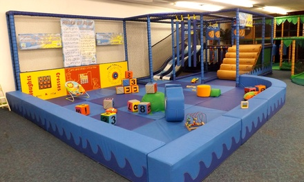 Soft Play: Family Entry and Drink