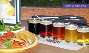 Faultline Brewing: $13 for Two Flights of Five Beers and One Appetizer at Faultline Brewing Company (Up to $26.50 Value)