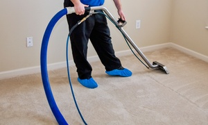 Thoroclean: Carpet Steam Cleaning for Three or Four Rooms from Thoroclean (Up to 62% Off)
