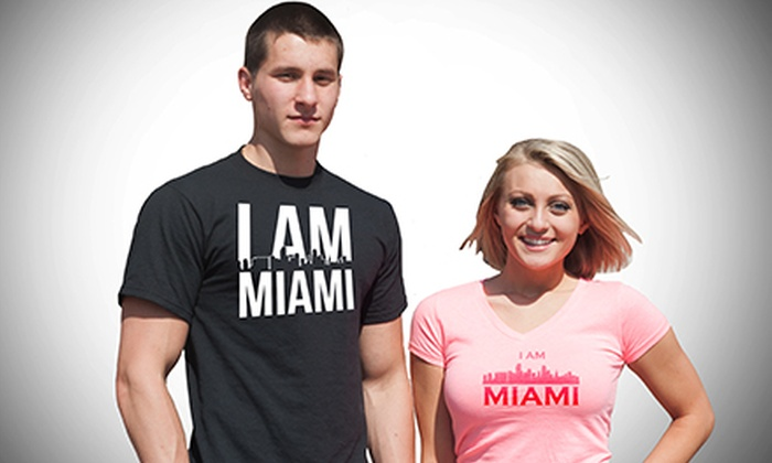 I Am Miami Clothing: T-Shirts and Hoodies from I Am Miami Clothing (50% Off)