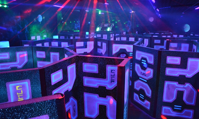 The Fun Warehouse - Camillus: All-Night Laser Tag for Two or Four with Options for Lifetime Basic Membership at The Fun Warehouse (50% Off)