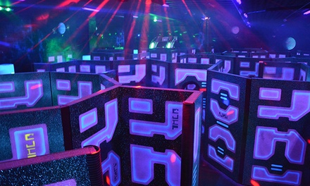All-Night Laser Tag for Two or Four with Options for Lifetime Basic Membership at The Fun Warehouse (50% Off)