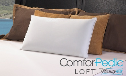 ComforPedic Loft from Beautyrest Gel Memory Foam and Fiber Reversible Pillow