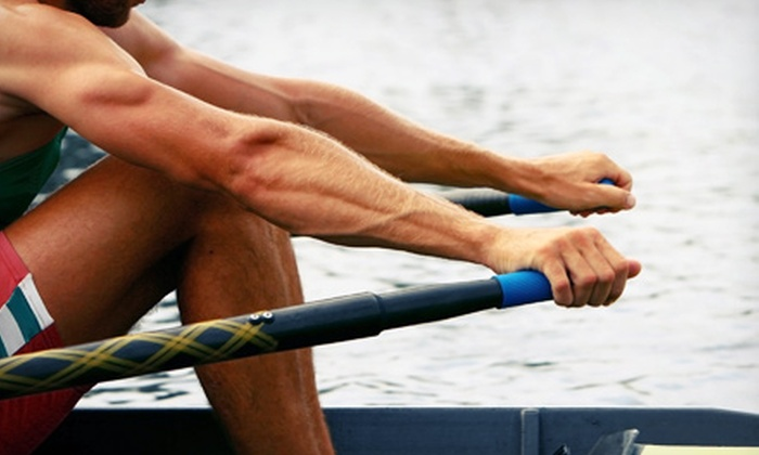 Three Rivers Rowing Association - Lambert Boathouse at Washington's Landing: Introductory Kids' Summer Rowing Camp at Three Rivers Rowing Association (56% Off). Eight Options Available.