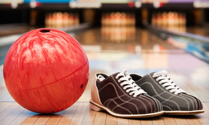 Spare Time - Multiple Locations: Two Games of Bowling and Shoe Rental for Two or Four at Spare Time (Up to 54% Off)