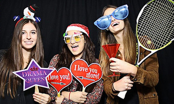 WhatTheFun?! PhotoBooth - Norwalk: $299 for a Two-Hour Photo-Booth Rental with Unlimited Prints from WhatTheFun?! PhotoBooth ($599 Value)