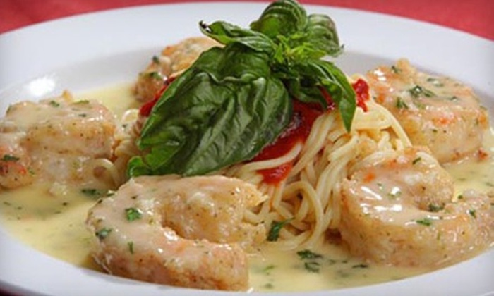 Scuzzi's Italian Grill - Northwest Side: $5 for $10 Worth of Italian Food and Nonalcoholic Drinks at Scuzzi's Italian Grill