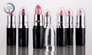 6-Pack NYC Luxury Colour Lipstick